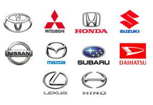 国産自動車メーカーロゴ